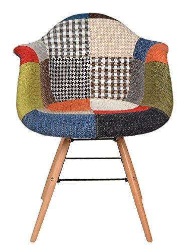 1-x-Design-Klassiker-Patchwork-Sessel-Retro-50er-Jahre-Barstuhl-Wohnzimmer-Kchen-Stuhl-Esszimmer-Sitz-Holz-Metall-bunt-0