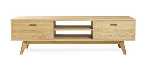 Tenzo 2162-554 Bess Designer TV Bank, 50 x 170 x 43 cm, eiche furniert