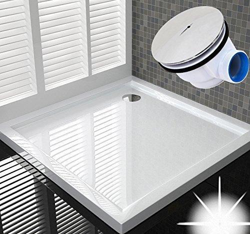 100x100 Duschtasse Duschwanne Flach Wanne H 6 cm Für Duschabtrennung Duschkabine Duschwand