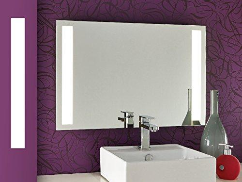 Badspiegel mit Beleuchtung Tower II (CQ) Bricode Süd© LED Spiegel in verschiedenen größen mit LED beleuchtet 80cm x 60cm (breite x höhe) Neutralweiß