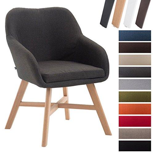 clp esszimmerstuhl kepler mit stoffbezug wartezimmerstuhl mit armlehnen besucherstuhl mit. Black Bedroom Furniture Sets. Home Design Ideas