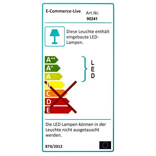 LED-Spiegel, Beleuchteter Badspiegel in 100x65cm (62977)