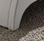 SAM® Polsterbett 180x200 cm Murcia, weiß, Bett mit gepolstertem Kopfteil, modernes Design 2