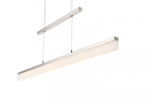 15 Watt LED Hänge Leuchte Wohnzimmer Diele Lampe höhenverstellbar Globo 68050Z