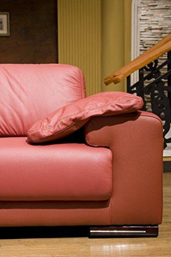 Design Voll-Leder Ecksofa-Sofa-Garnitur-Ledersofa Ledergarnitur Eckgruppe 5042-L-206