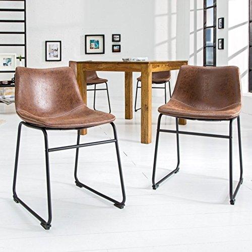 Dunord design stuhl esszimmerstuhl pontius mikrofaser for Dunord design stuhl verona