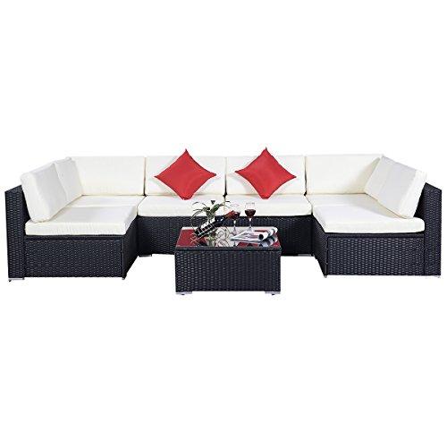 15tlgRattan-Set-Gartenmbel-Lounge-Polyrattan-Sitzgruppe-Rattanmbel-Garnitur-Garten-0