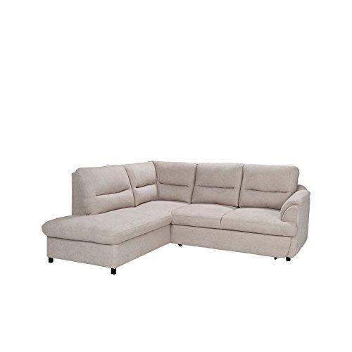 Moderne Ecksofa Gusto, Silikonfüllung! Eckcouch mit Bettkasten und Schlaffunktion, Design Schlafsofa Polsterecke, Elegante L-Form Couch Couchgarnitur (Ecksofa Links, Bonn 23)