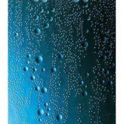 Eckeinstieg Duschkabine Kunststoffglas Tropfendekor Silberne Profile 75x75 75x80 75x90 90x75 80x75 1