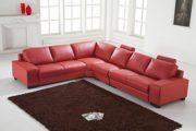 Design Voll-Leder Ledergarnitur Ledersofa Ecksofa-Sofa-Garnitur-Eckgruppe 5010-L-8401 1