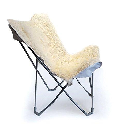 osoltus schaf lamm fell optik hippie bus sessel faltsessel sams m bel24. Black Bedroom Furniture Sets. Home Design Ideas