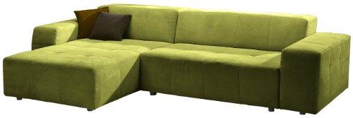 Polsterecke Futoro/Longchair-3er/300x71x178 cm/Solo kiwi