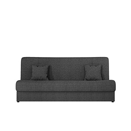 Schlafsofa Jonas SALE, Ausverkauf, Sofa mit Bettkasten und Schlaffunktion, Schlafcouch, Bettsofa, Dauerschläfer-sofa, Couch vom Hersteller, Wohnlandschaft (Dot 95)