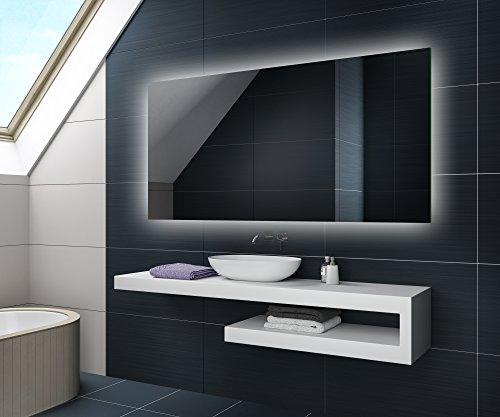 80 x 60 / 60 x 80 cm Design Badspiegel mit LED Beleuchtung von Artforma | Wandspiegel Badezimmerspiegel | Vertikal / HorizontalSpiegel nach Maß