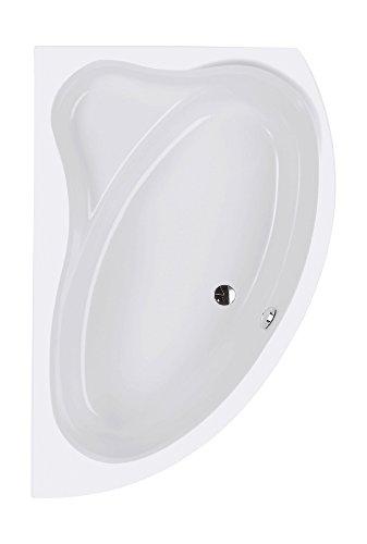 Acryl-Eckbadewanne Cejlon | Linke Ausführung | Eckwanne | 150 x 100 cm | Weiß