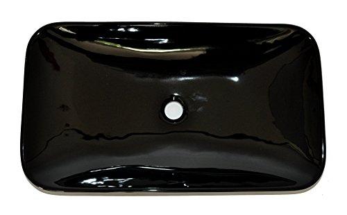 Art-of-Baan® - Design Waschbecken, Aufsatzwaschbecken, Handwaschbecken schwarz (408)