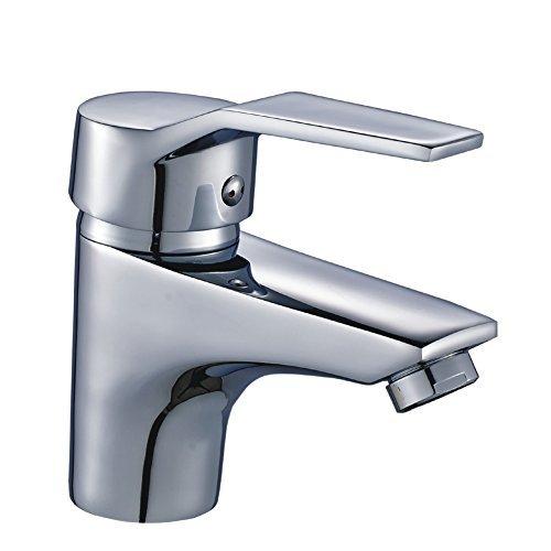 Auralum® Elegant Einhebel Mischbatterie Wasserhahn Armatur Waschtischarmatur Wasserfall Einhandmischer für Bad Badezimmer Waschbecken Spüle