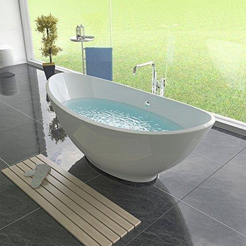 Design-Freistehende-Badewanne-1750-x-850-x-700-Standbadewanne-Acryl-Badewanne-0