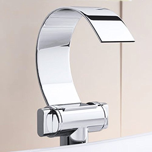 Design Wasserfall Waschtischarmatur Francfort60, Zweigriffmischer, Waschbeckenarmatur, Wasserhahn