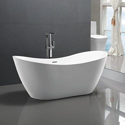 Freistehende-Badewanne-Bremen-180x80cm-Sanitracryl-Wei-Modern-ohne-Armatur-0