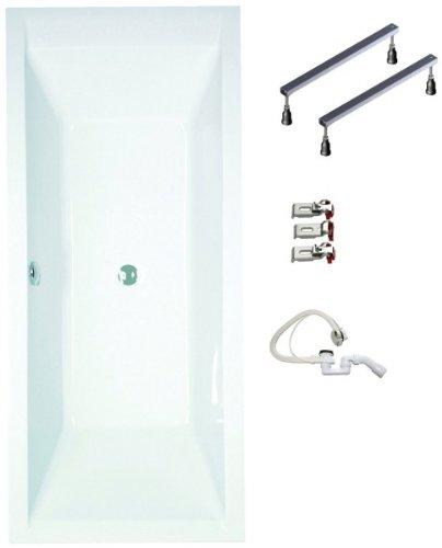 Galdem-Badewannen-Set-GABWSET120RF-180-x-80-cm-hochwertiges-Wannen-komplett-SET-bestehend-aus-einer-Rechteck-Acryl-Design-Badewanne-Wannen-Fugestell-sowie-be-0