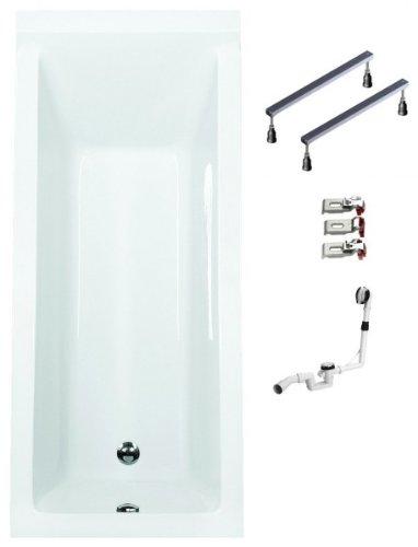Galdem-Badewannen-Set-GABWSET121WF-160-x-70-cm-hochwertiges-Wannen-komplett-SET-bestehend-aus-einer-Rechteck-Acryl-Design-Badewanne-Wannen-Fugestell-sowie-be-0