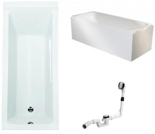 Galdem-Badewannen-Set-GABWSET123WT-180-x-80-cm-hochwertiges-Wannen-komplett-SET-bestehend-aus-einer-rechteck-Acryl-Design-Badewanne-Wannentrger-aus-Styropor-so-0