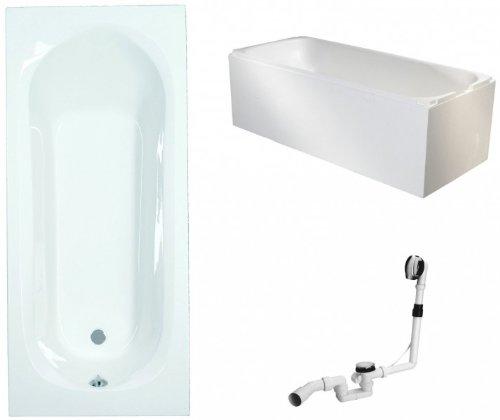 Galdem-Badewannen-Set-GABWSET126ET-180-x-80-cm-hochwertiges-Wannen-komplett-SET-bestehend-aus-einer-Rechteck-Acryl-Design-Badewanne-Wannentrger-aus-Styropor-so-0