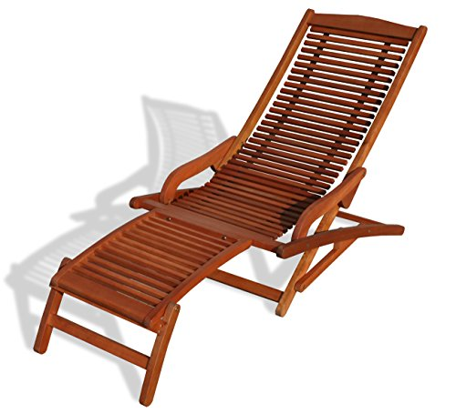 KMH®, Relaxliege aus Eukalyptusholz (#101904)