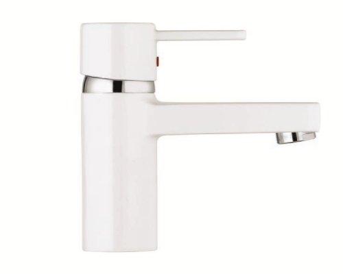 Kludi Zenta 382519175  Waschtisch-Einhebelmischer DN 10 chrom/weiß