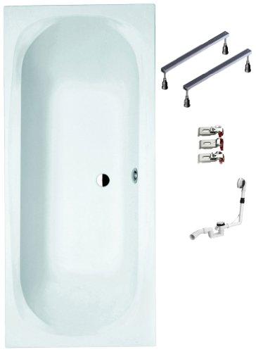 Mybath-BWSET119AF-Badewannen-komplett-Set-inklusiv-Acryl-Rechteck-Fugestell-und-ber-Ablaufgarnitur-180-x-80-cm-0