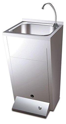 Standwaschbecken Edelstahl Handwaschbecken Standmodell Waschstation Waschbecken