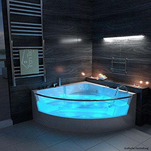 TroniTechnik-LUXUS-Whirlpool-Badewanne-Wanne-Jacuzzi-Eckwhirlpool-Spa-2-Personen-Eckwanne-150x150-0