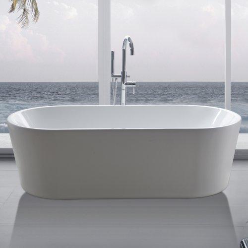 perfect-spa-Freistehende-Badewanne-Madrid-Wanne-inkl-Ab-und-berlauf-0