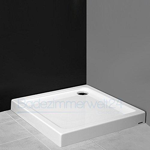 AQUABAD® Duschwanne/Duschtasse/Duschbecken Rechteck/Quadrat 100x100x14cm