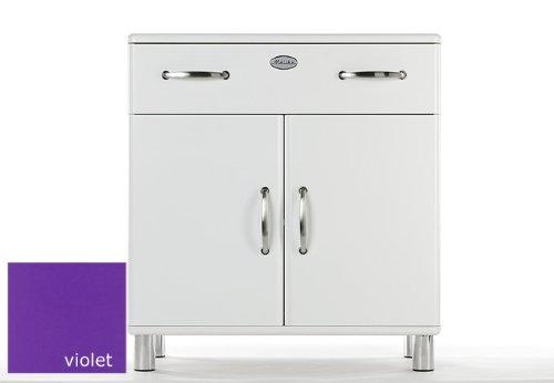 Kommode Malibu 5127 mit 2 Türen / 1 Schublade in violet Sideboard von Tenzo