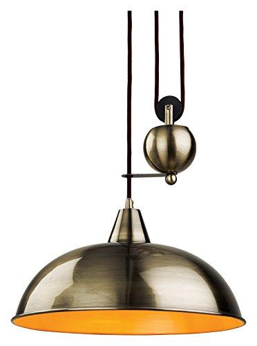 2309AB Firstlight Hängeleuchte Edison Screw, E27, 60 W, Jahrhundert Aufstieg und Fall Pendelleuchte-Parent Modern Messing antik