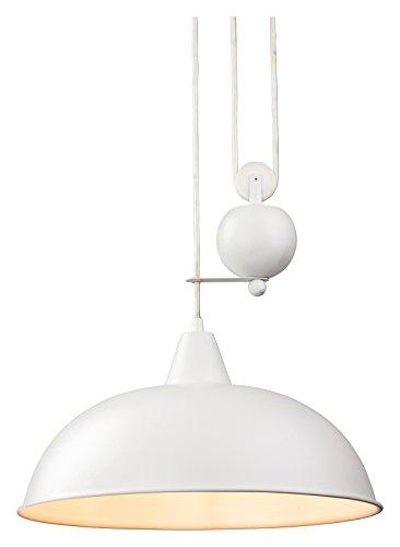 2309AB Firstlight Hängeleuchte Edison Screw, E27, 60 W, Jahrhundert Aufstieg und Fall Pendelleuchte-Parent Modern weiß