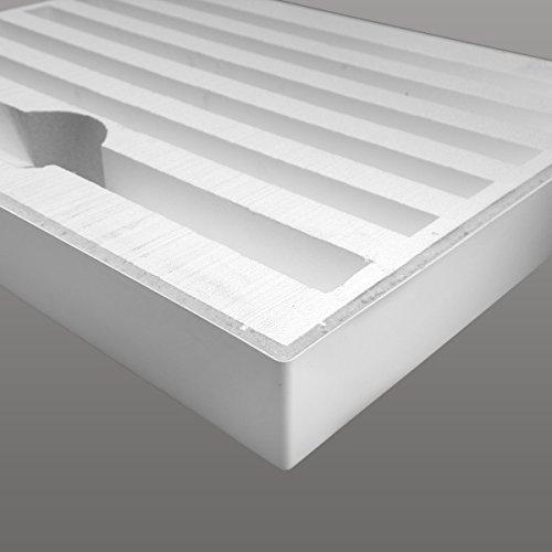 AQUABAD® Duschwanne Comfort Ultima 80x100cm Rechteckig