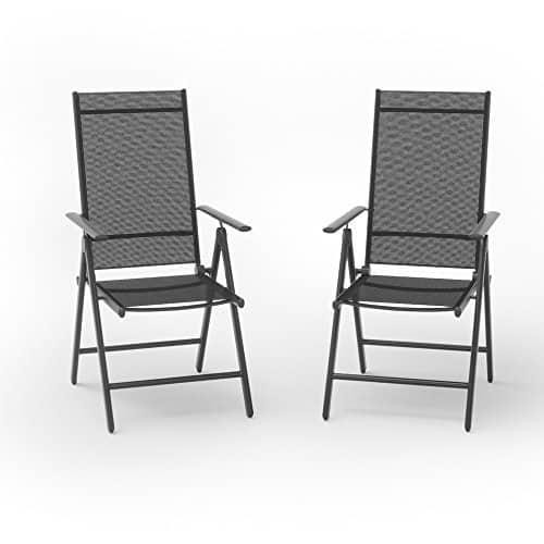 2er set alu gartenstuhl klappstuhl hochlehner campingstuhl aluminium liegestuhl 0 0 moebel24. Black Bedroom Furniture Sets. Home Design Ideas