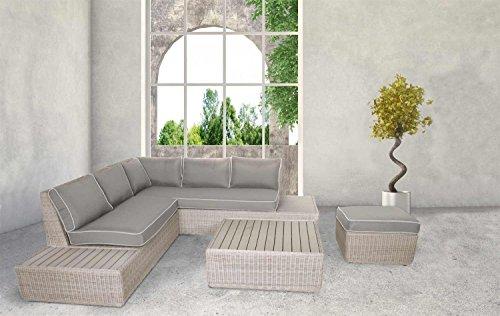 4-teiliges-Lounge-Set-Loungeset-Loungembel-Gartenloungembel-Rattanlounge-Gartengarnitur-Gartensitzgruppe-Loungebank-Loungetisch-Loungesofa-outdoor-Rattan-0
