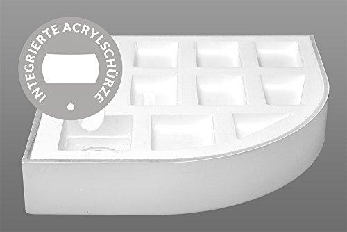 AQUABAD® Duschwanne Comfort Forta Plus 70x70cm Quadrat