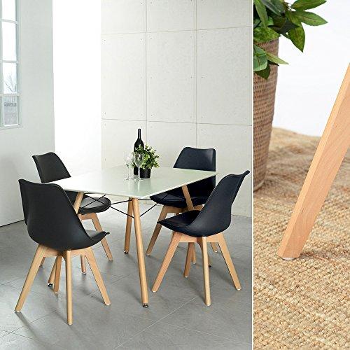 4er-Set-Esszimmersthle-mit-Massivholz-Buche-Bein-Retro-Design-Gepolsterter-lStuhl-Kchenstuhl-Holz-0