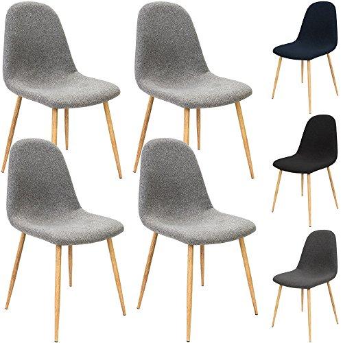 4x-Design-Stuhl-mit-Stoffbezug-Esszimmersthle-Sthle-Designerstuhl-Arbeitsstuhl-Kchensthle-Wohnzimmerstuhl-Esszimmerstuhl-Sitzgruppe-Essgruppe-Brostuhl-Polsterstuhl-0
