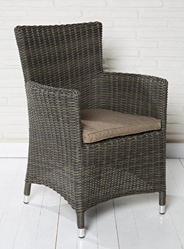 4x-Hochwertiger-Polyrattan-Gartenstuhl-Sessel-Rattan-Stuhl-Gartensthle-Gartenmbel-Gartensessel-Loungesessel-Relaxsessel-Positiosstuhl-Gartensthle-Balkonstuhl-0