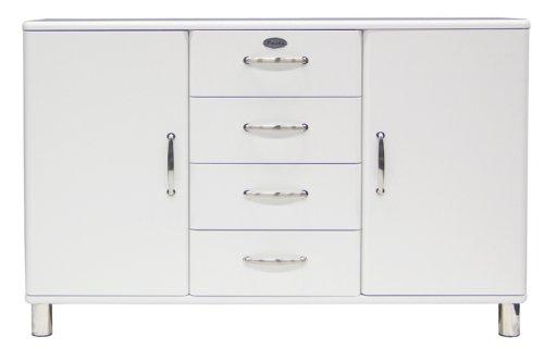 malibu sideboard 5236 4 schubladen 2 t r in wei kommode von tenzo m bel24. Black Bedroom Furniture Sets. Home Design Ideas