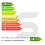 KROLLMANN Badezimmer-Spiegel 65 x 100 cm beleuchtet durch LED-Lichtfelder fürs Bad [Energieklasse A+] 2