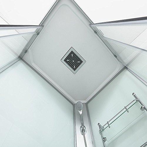 Home Deluxe Venus XL Duschtempel, inkl. komplettem Zubehör