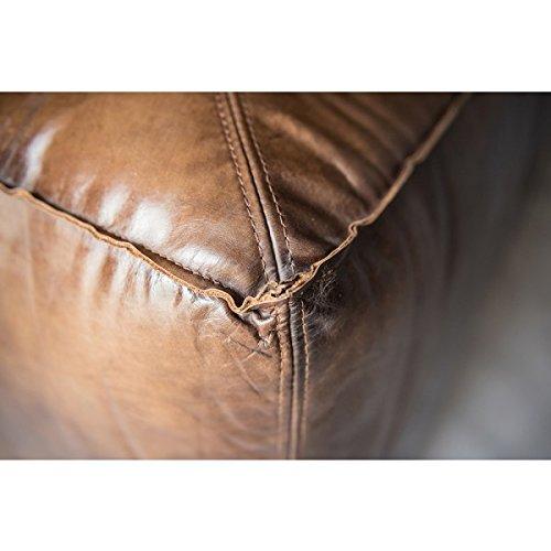 Lounge Sofa Tribeca 3-Sitzer Leder Antique Whisky (rauchiges rotbraun) HALO est 1976 Echtleder
