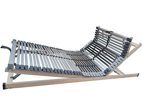 7-Zonen-Lattenrost-MediBalance-44-Federholzleisten-Mittelgurt-verstellbarer-Sitz-und-Schlafkomfortrahmen-100x200-cm-0